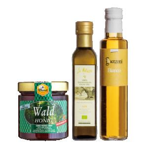 滿額贈-德國黑森林蜜+穆樂橄欖油+貴滋妮3年白酒醋