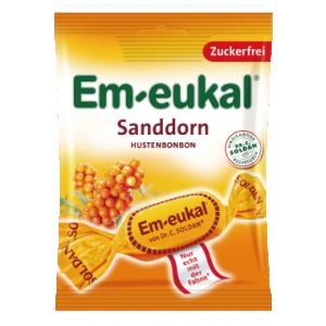 德國索丹潤喉糖 (無糖)沙棘果糖