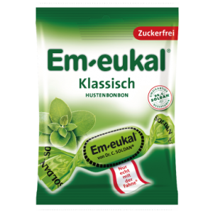 德國索丹潤喉糖 (無糖)尤加利薄荷糖