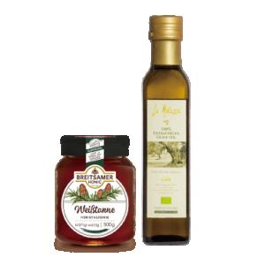 NEW-布蘿夏 銀杉樹蜜+穆樂橄欖油 250ml